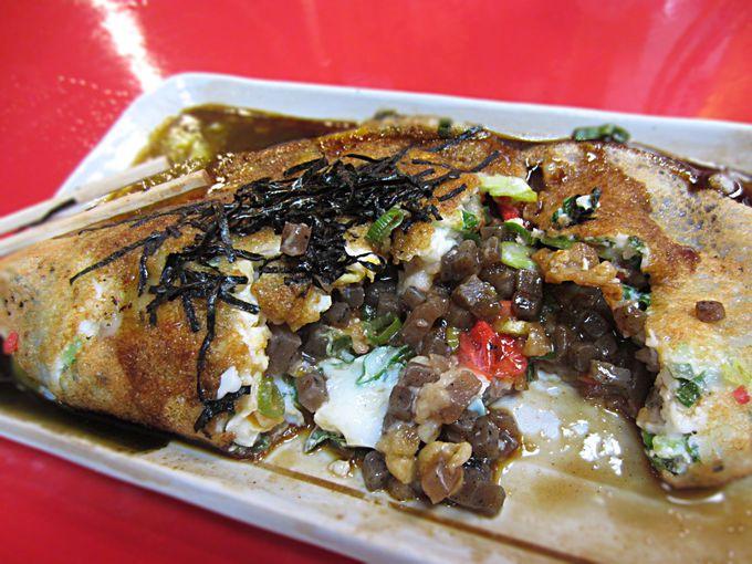壱銭洋食を味わう