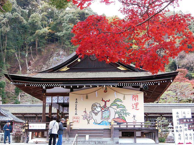 松尾大社と鈴虫寺