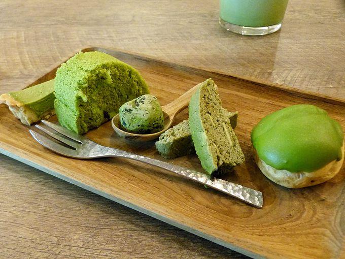 TEO KAFON(テオカフォン)の抹茶スウィーツプレート
