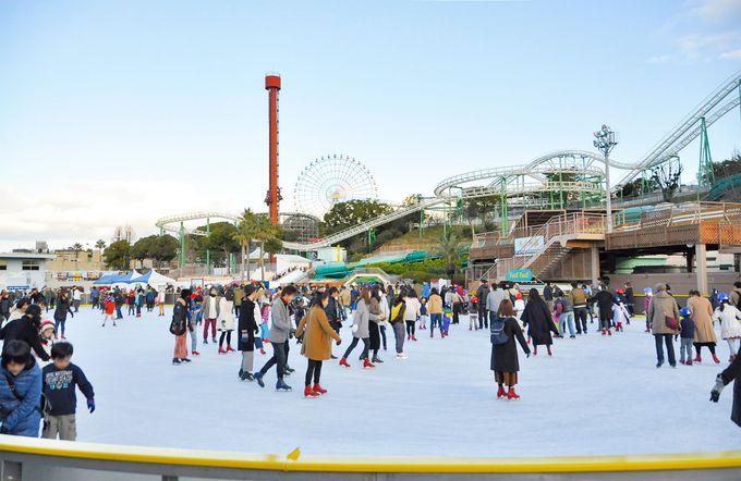 大阪の定番!ひらパーのアイススケート