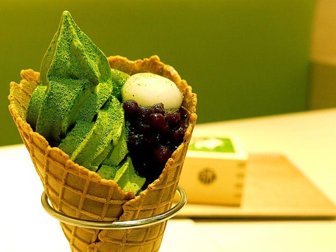 大阪限定のソフトクリームもマスト!