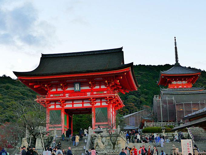 午前:まずはやっぱりここ!「清水寺」