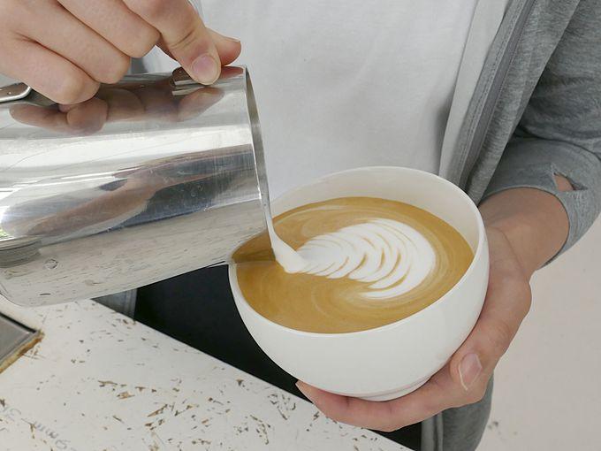 バリスタのコーヒーの腕も笑顔も素敵なwalden woods kyoto