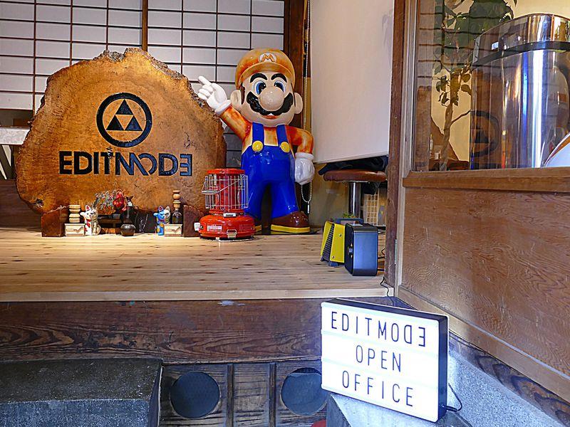 オシャレゲーマーは京都へ!任天堂公認EDITMODEのオープンオフィス