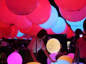 「チームラボ 学ぶ!未来の遊園地」大阪の阪急うめだ本店で開催