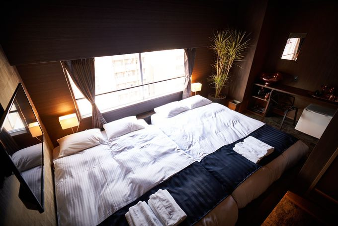 &AND HOSTEL HOMMACHI EASTの豊富な部屋タイプ