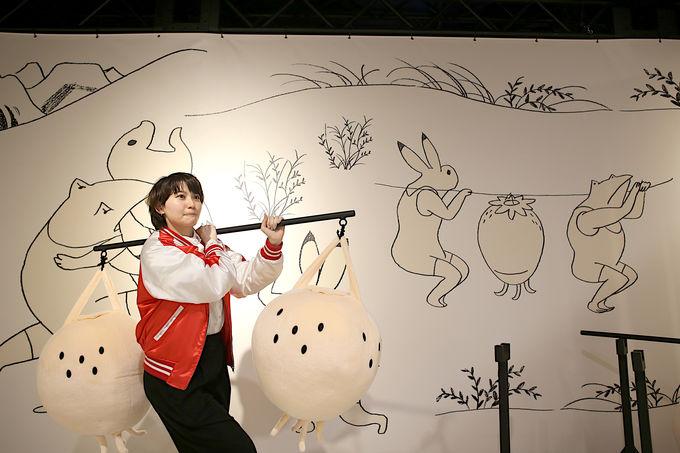 美術作品の中で楽しみつくすなら鳥獣戯画ジム!