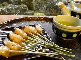 自転車で行く!京都洛北の定番和菓子と神社を巡る半日ツアー