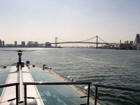 隅田川を走る宇宙船『ホタルナ』で行く『お台場海浜公園』が楽しい