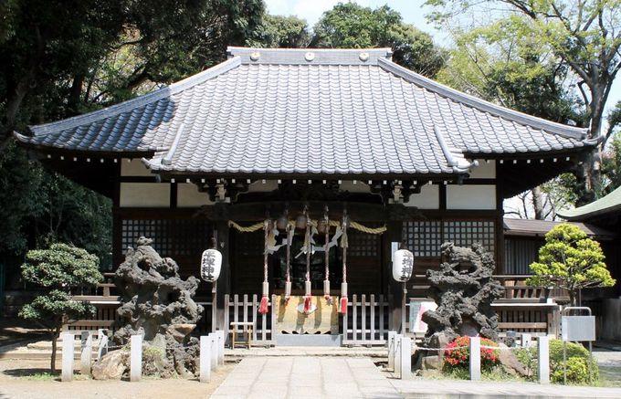 事件の舞台にもなっている!『平塚神社』