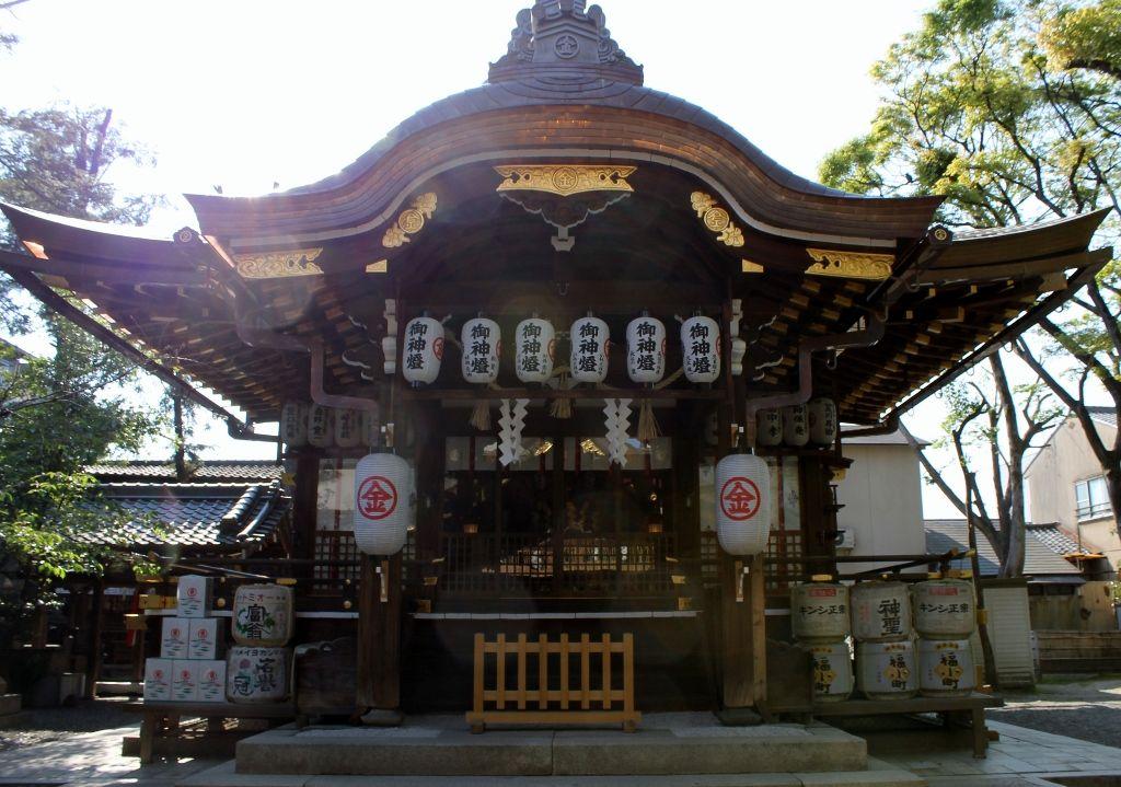 京の花街 祇園から ほど近い立地『安井金比羅宮』のご利益!