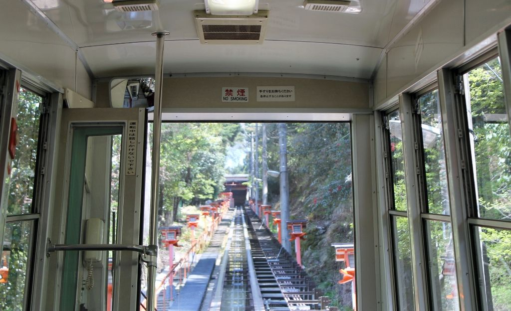 わずか2分!日本一短い鉄道『鞍馬寺ケーブルカー』