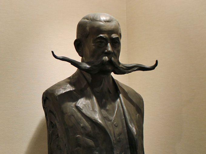 史料展示室がおもしろい!二代目山口正造氏の髭は70センチもあった!
