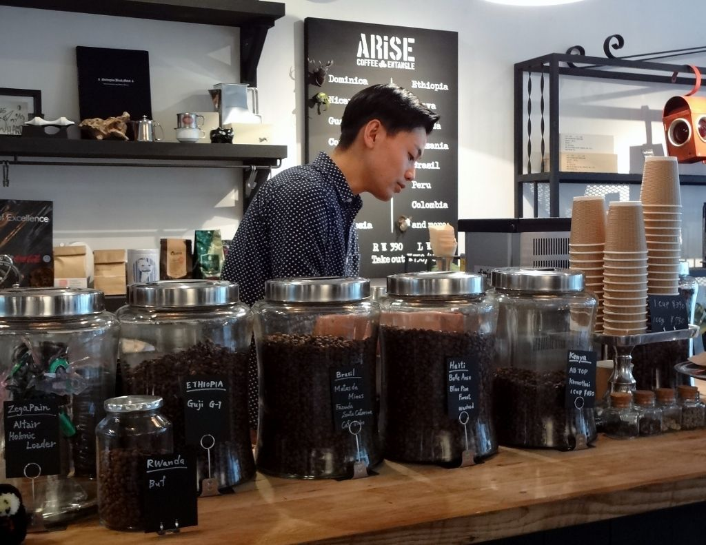 こだわりの一杯が嬉しい!「アライズ コーヒー エンタングル」