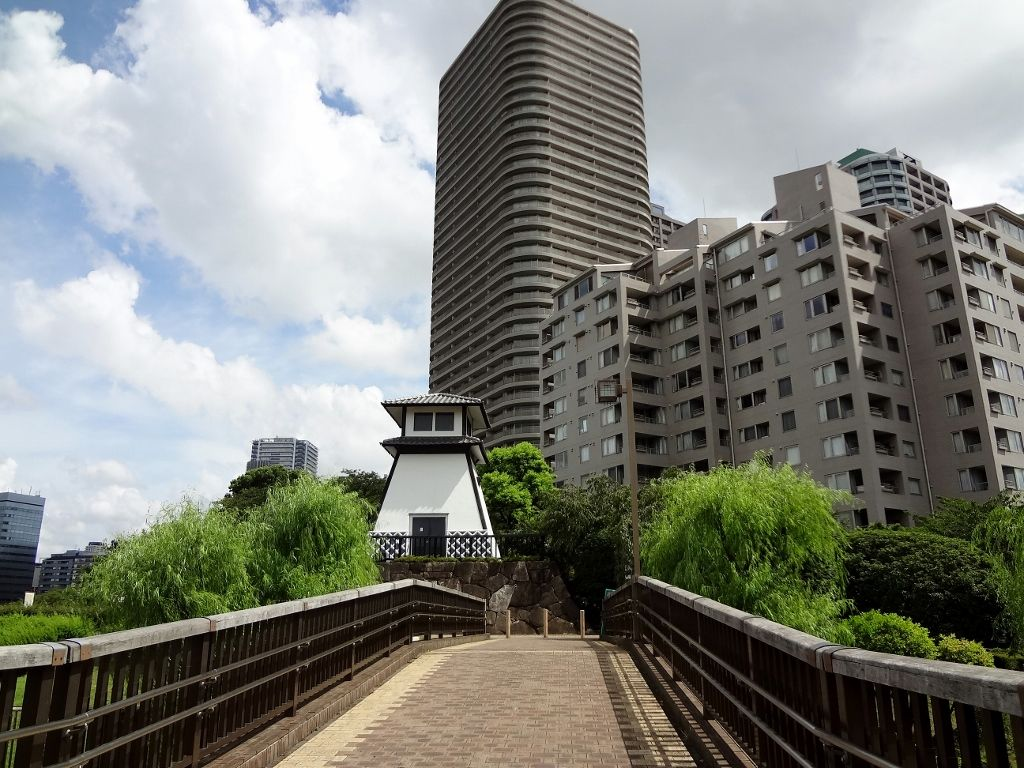 昭和の街並みが魅力!佃公園