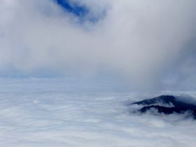 "言葉を失う天空の絶景""雲海""!日本百名山・福島「磐梯山」"