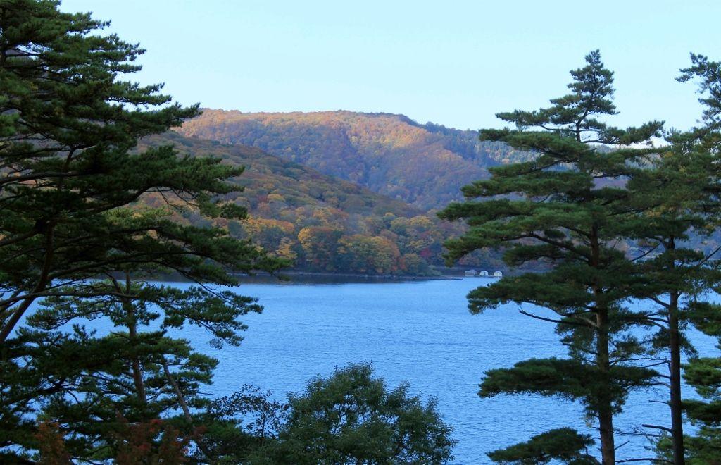 """磐梯の松島!""""桧原湖"""""""