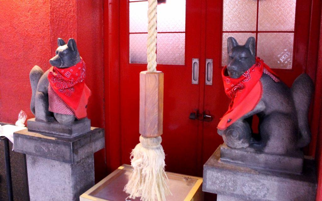 銀座No.1のパワースポット! 「豊岩稲荷神社」