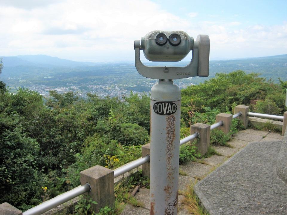 山頂だからこそ味わえる軽井沢の風景