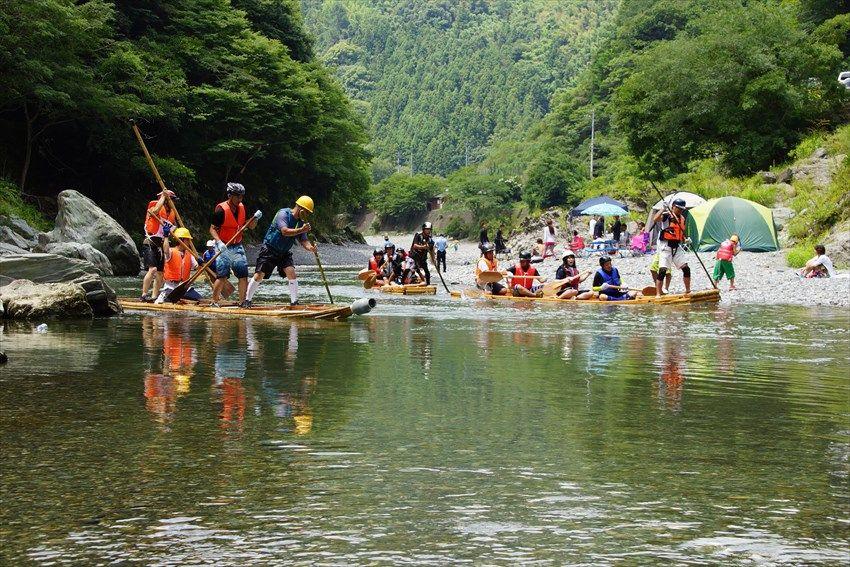 日本一の清流で夏休みを遊ぶ!徳島県美馬市を流れる穴吹川