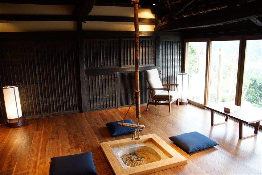古民家の室内は快適空間