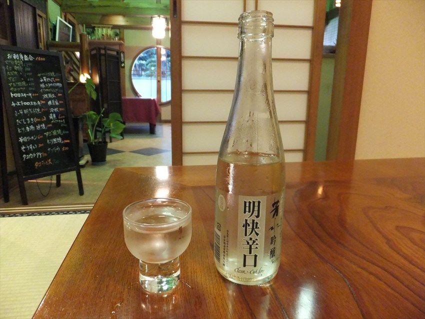 徳島の地酒「芳水」を堪能