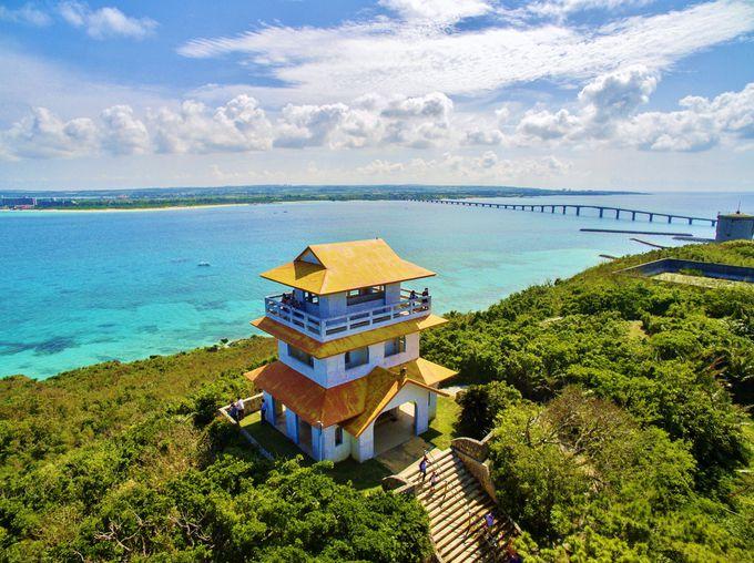 来間島へ来たなら「竜宮城展望台」は必訪!