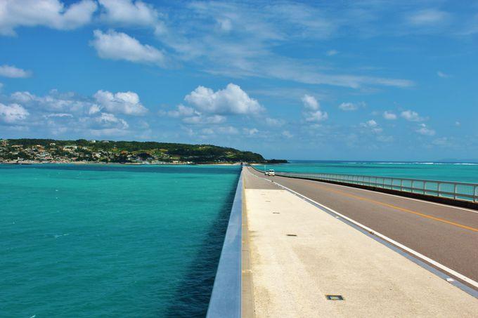 沖縄本島北部・古宇利島にかかる「古宇利大橋」