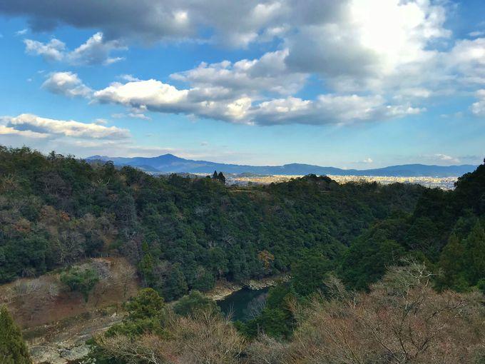 断崖に立つ客殿からの眺めが最高!
