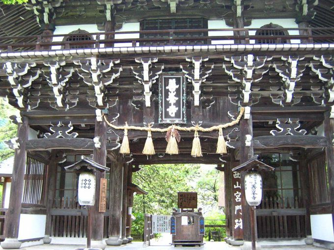 西山の名刹、善峯寺