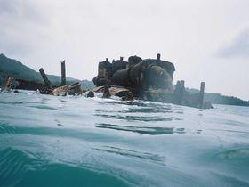 東洋のガラパゴス「小笠原諸島・父島」その4 境浦海岸の沈没船