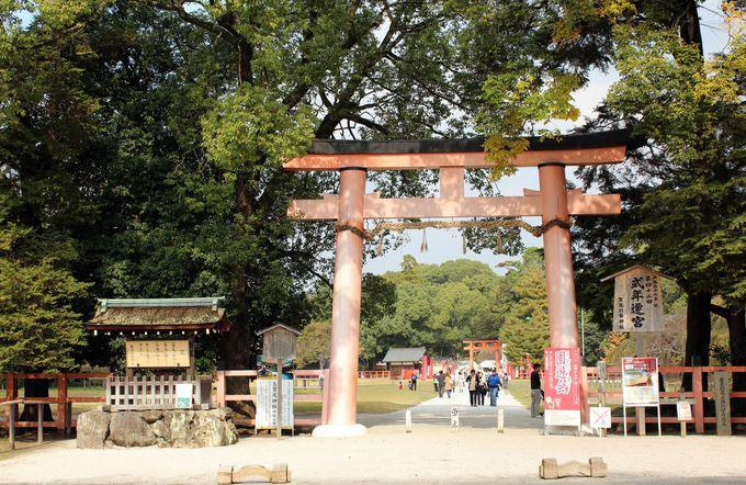 北を守護する上賀茂神社