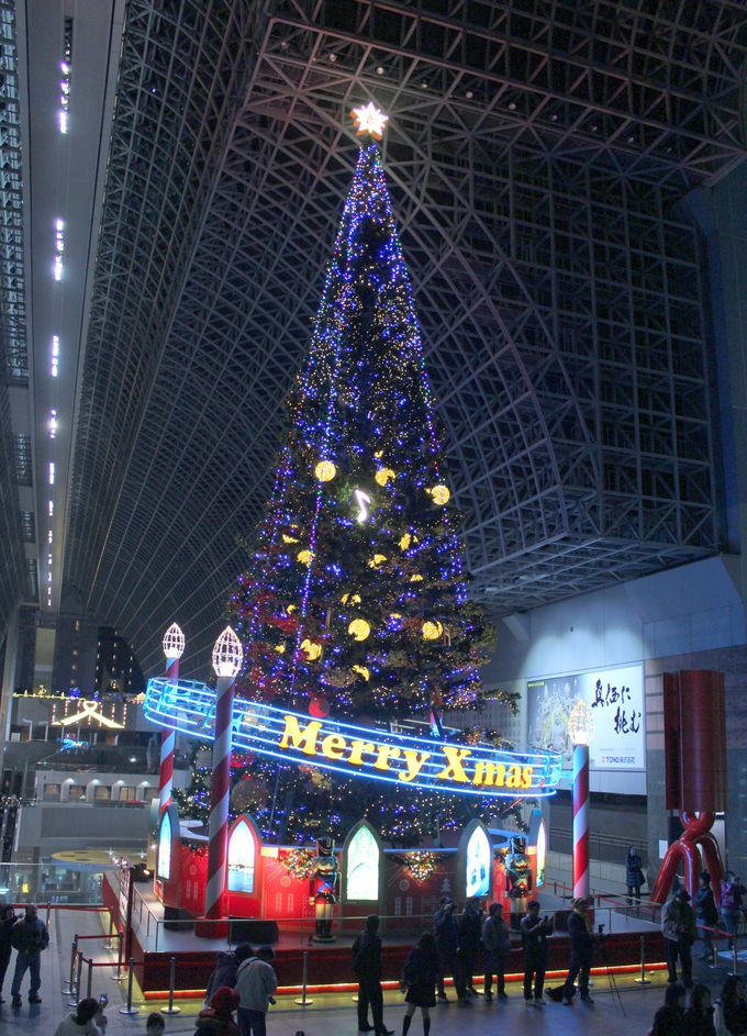 駅部門代表「京都駅ビル・クリスマスイルミネーション」