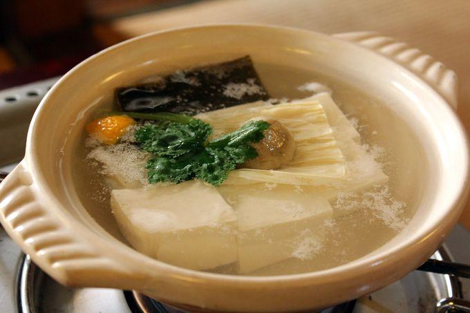 冬の京都・名物湯豆腐を味わおう!「ゆどうふ竹仙」