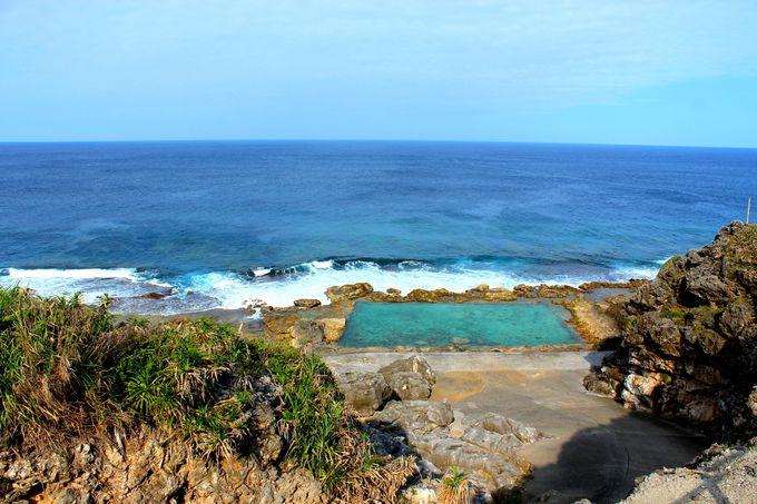南大東島は砂浜のない島