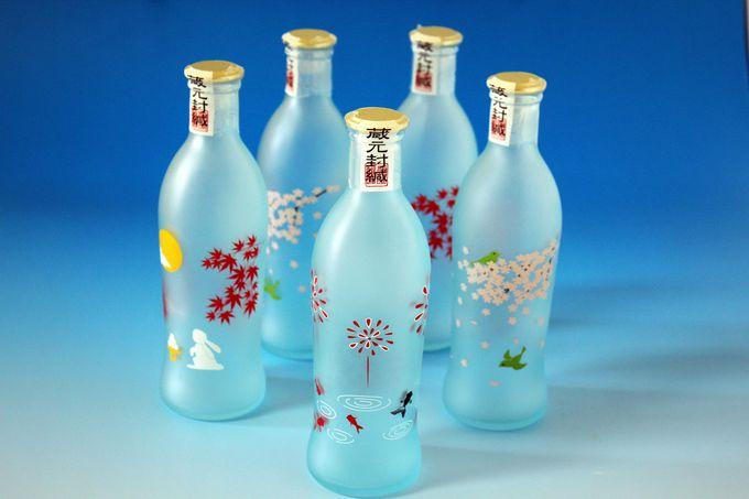 「招�コ酒造・四季の純米吟醸デザインボトル」京都市伏見区