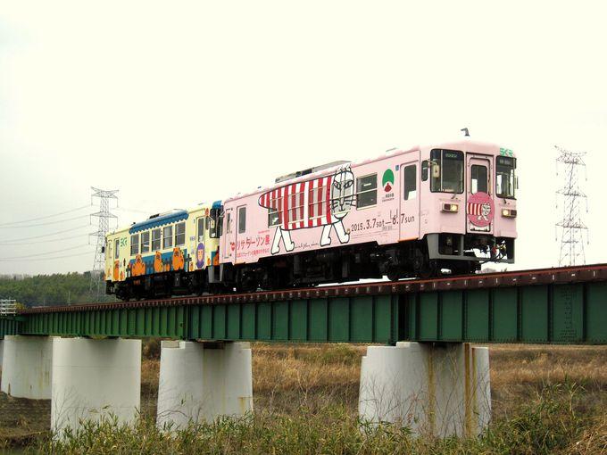 豪雨災害から復活した信楽高原鉄道