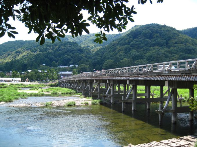 """『渡月橋』は色々な""""境"""""""