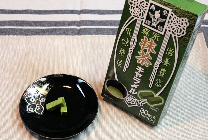 森永抹茶キャラメル