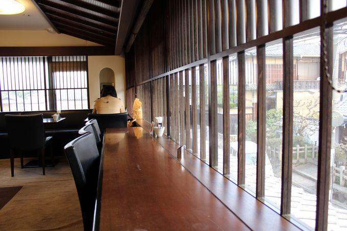 祇園の隠れ家的カフェ「ジュヴァンセル祇園店」