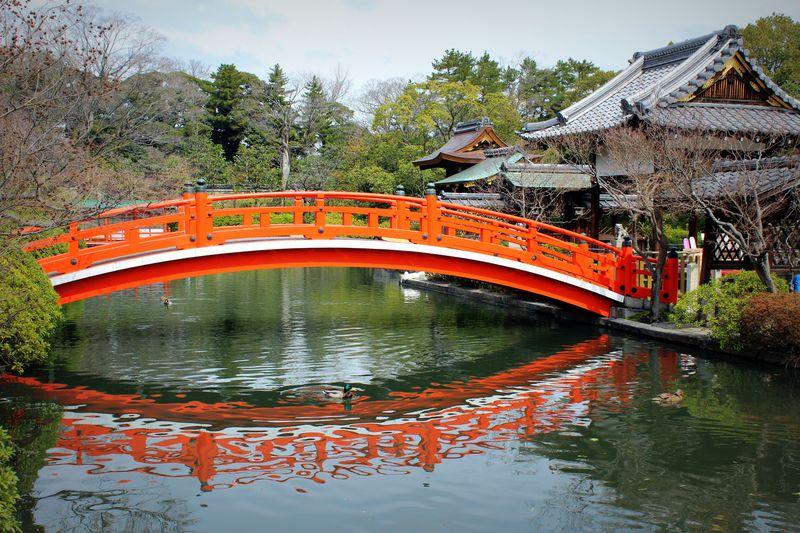 平安京最古の庭園は龍のパワースポット!「神泉苑」で願いを一つ叶えよう!