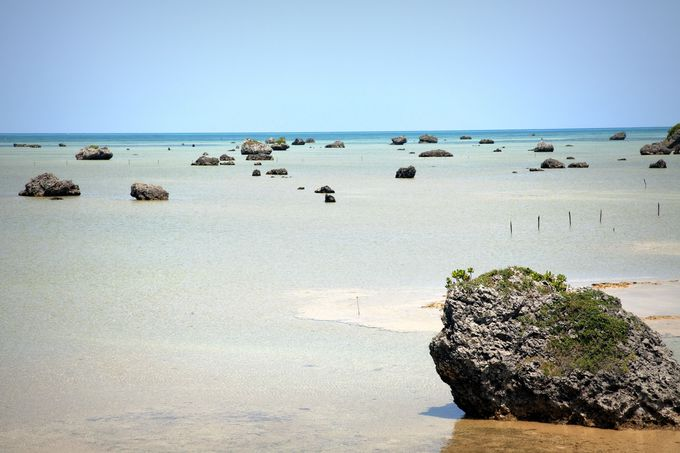 3日目:無数の大岩が点在する独特な光景は必見「佐和田の浜」