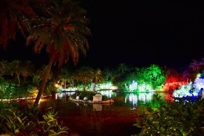 1日目夜:「シギラ黄金温泉」で南国リゾートと天然温泉を満喫