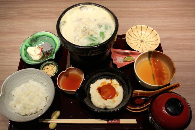 """2日目 午後:ランチ&スイーツは東山エリアで""""京都の味""""を"""