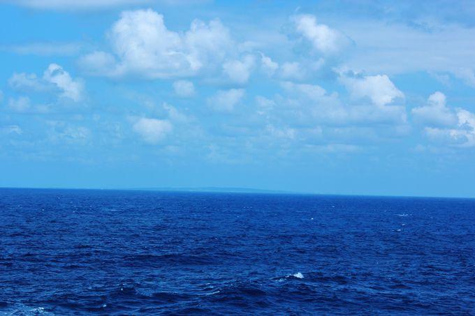 この海の先は鹿児島県!