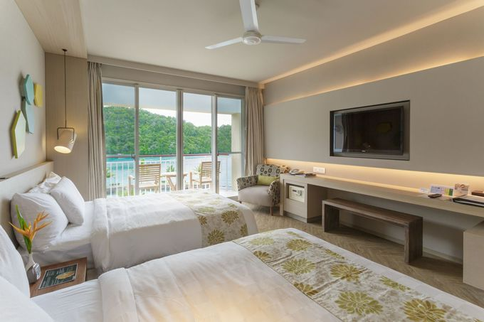 白を基調とした上質な部屋