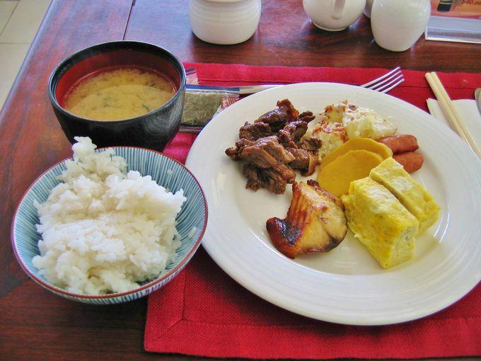 朝から和食でスタートできる!