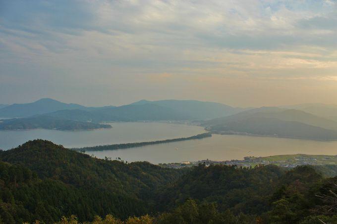 日本三景を一望する「弁天山展望台」