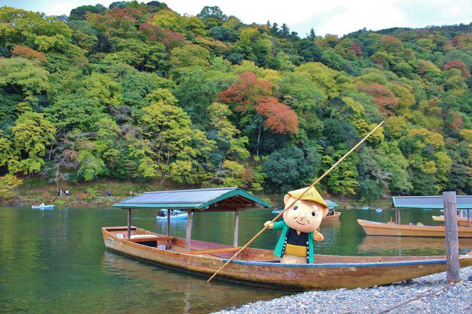嵐山の屋形船・嵐山通船の「通さん」