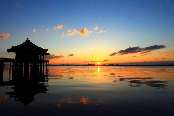 これぞ琵琶湖の絶景!満月寺「浮御堂」は風光絶佳の地